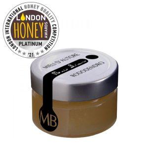 MIELE DI RODODENDRO London Honey Awards 2021 da 125 grammi © Azienda Apistica Mario Bianco di Bianco A. - via Morteo 20 - 10014 Caluso (To)