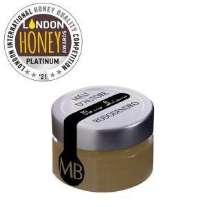 MIELE DI RODODENDRO London Honey Awards 2021 da 50 grammi © Azienda Apistica Mario Bianco di Bianco A. - via Morteo 20 - 10014 Caluso (To)